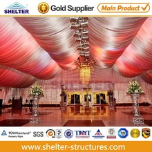 25x50m Luxury church tent with wedding decoration for sale