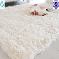 White faux fur rug carpets and rugs in living room carpet