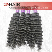 GS HAIR Hottest products natural color dyeable brazilian human hair weave auburn remy hair