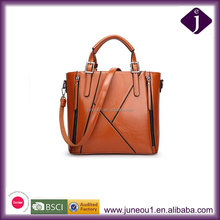 2016 New Unique Splicing Package Hot Sell Lady Multi-function Handbag