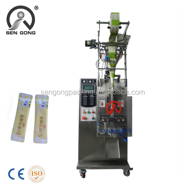T181F back seal packaging machine for pillow teabag with round edge