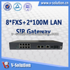 Rj11 to rj45 Adapter, SIP Gateway with 8*FXS, VoIP ATA IAD3008