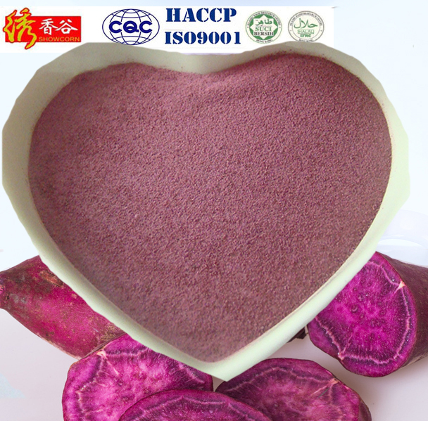 100% Natural cereal flour/ Instant purple sweet potato flour powder
