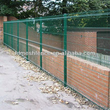 alibaba construction 5mm thick steel wire welded nylofor 3D Triton profiled panel fences