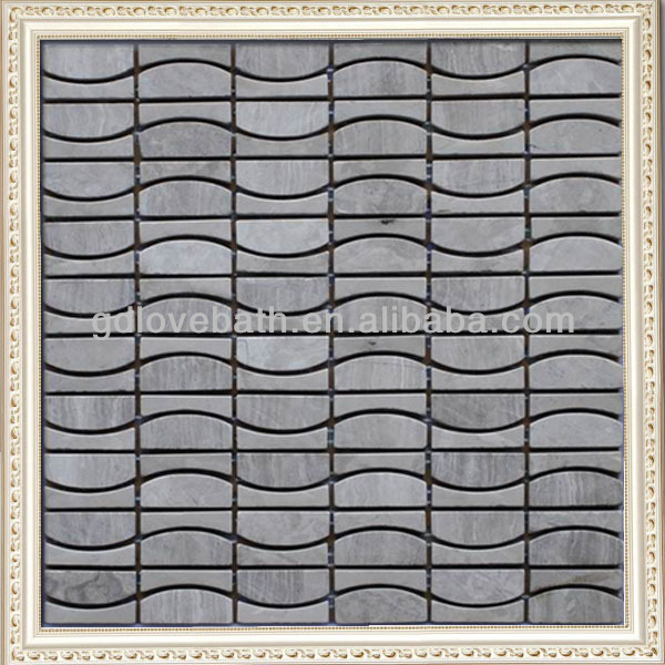 Wholesale cheap price waterjet natural marble decorative stone for walls