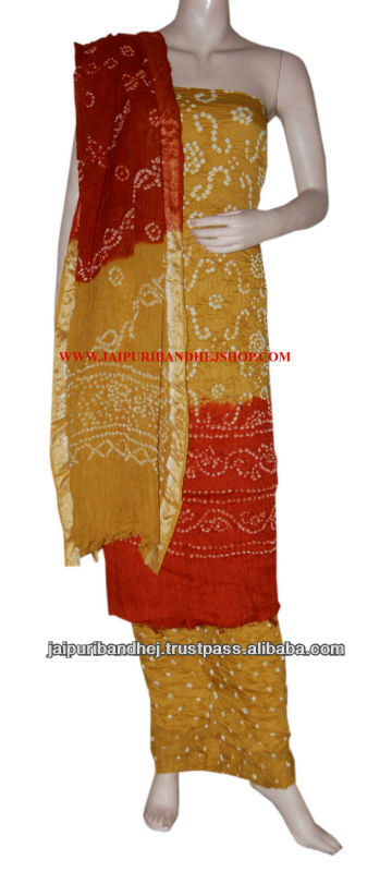 Tie & Dye Salwar Kameez Boho Suits High Quality Salwar Kameez Suits