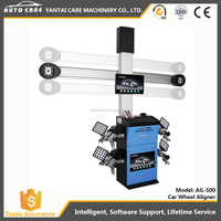 CE Approved Wheel Alignment 3D Camera Space Wheel Aligner Four Wheel Alignment