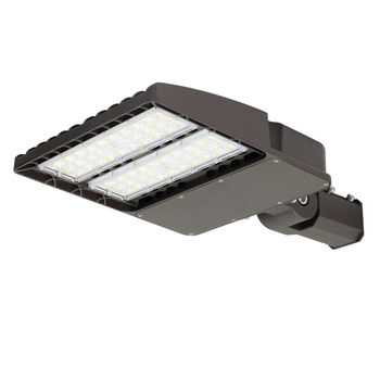 ETL DLC IP66 150W LED Shoebox Light With motion sensor photocell dimming function for Road Lighting led street light