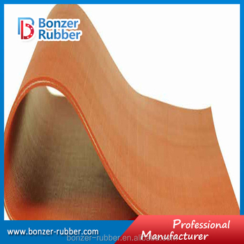 fabric insertion Neoprene Rubber Sheet factory