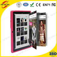 7 inch Android tablet pc Allwinner A33 DDR3 512MB ROM 8GB, Wifi Quad core, dual Cam Muti touch FM , Low Price