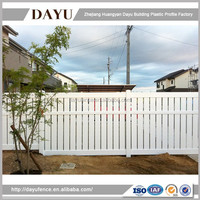New Products 2016 Pvc Home Garden Fencing