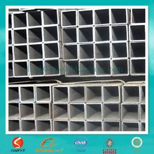 china welded carbon steel tubing / black tube stock construction material