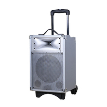 Built-in Battery portable trolley bluetooth speaker hindi mp3 song download flashing mobile ring