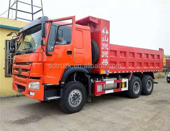 2018 hot sale Sinotruck 4*2 Dump Truck