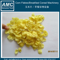 Best quality corn rice snack processing line/corn flakes food machine