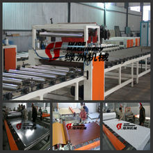 decorative insulation wall board PVC gypsum board ceiling design laminate machines /production line equipment
