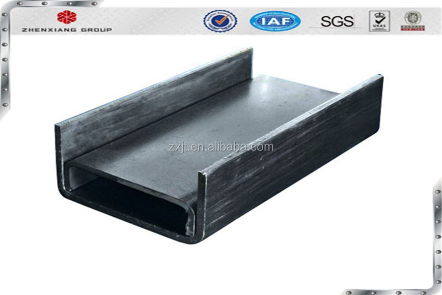 Channel bar with Material Grade EN S235JR S355JR in Size 140 also named C type steel