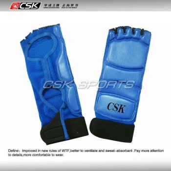 Synthetic Leather Competition Taekwondo Instep Guard
