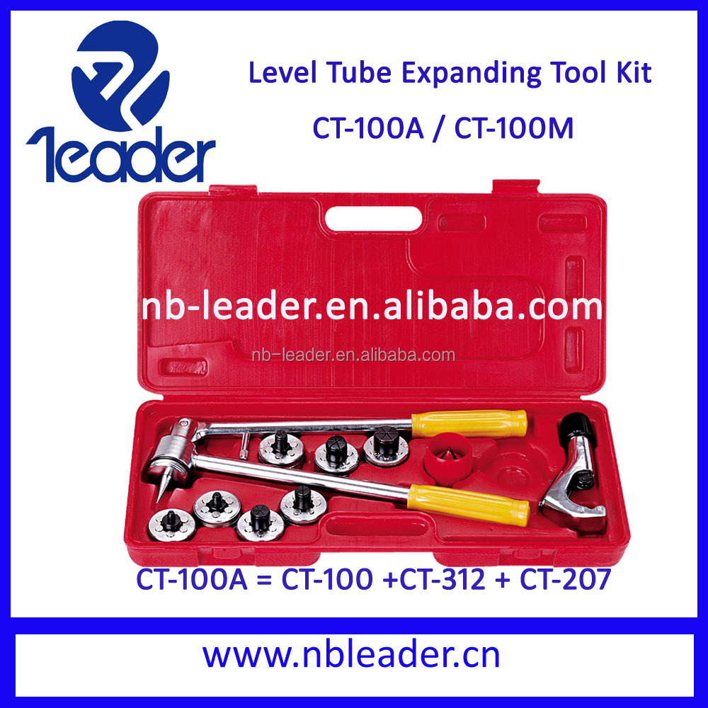 lever tube expanding tool kit CT-100A For 3/8'' to 1-1/8'' (10-28mm)