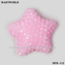 pink color star shape rhinestone,resin loose rhinestone wholesale (HFR-112)