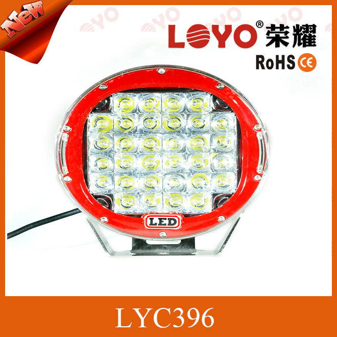 9 inch round led driving lights , 96w Led work light, led headlight tuning light 96W