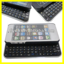 Sliding Mini Wireless Bluetooth Keyboard for iPhone 5 Keyboard Case for iPhone 5 Blak