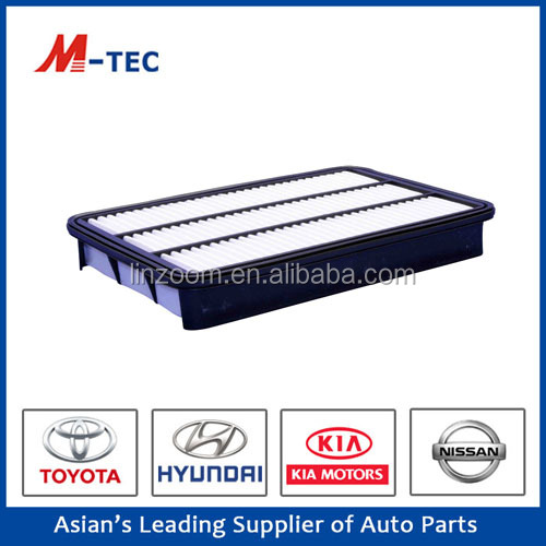 Auto car air filter 17801-30040 for Toyota Land Cruiser high effciency