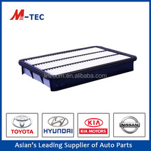 Auto car air filter 17801-30040 for Land Cruiser high effciency