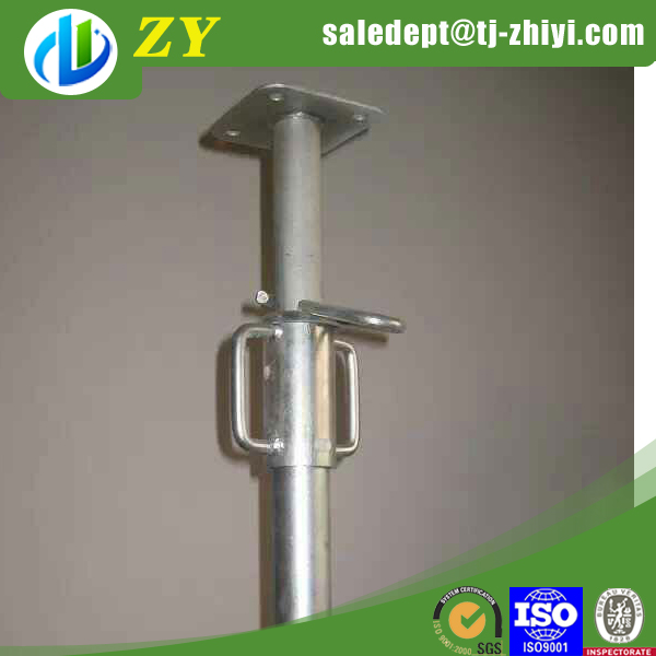 ZHIYI adjustable height shoring jack/shoring prop nut with handle