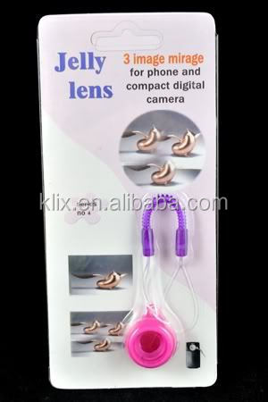 Jelly Lens Stretch Effect for Mobile Phones & Compact Digital Cameras