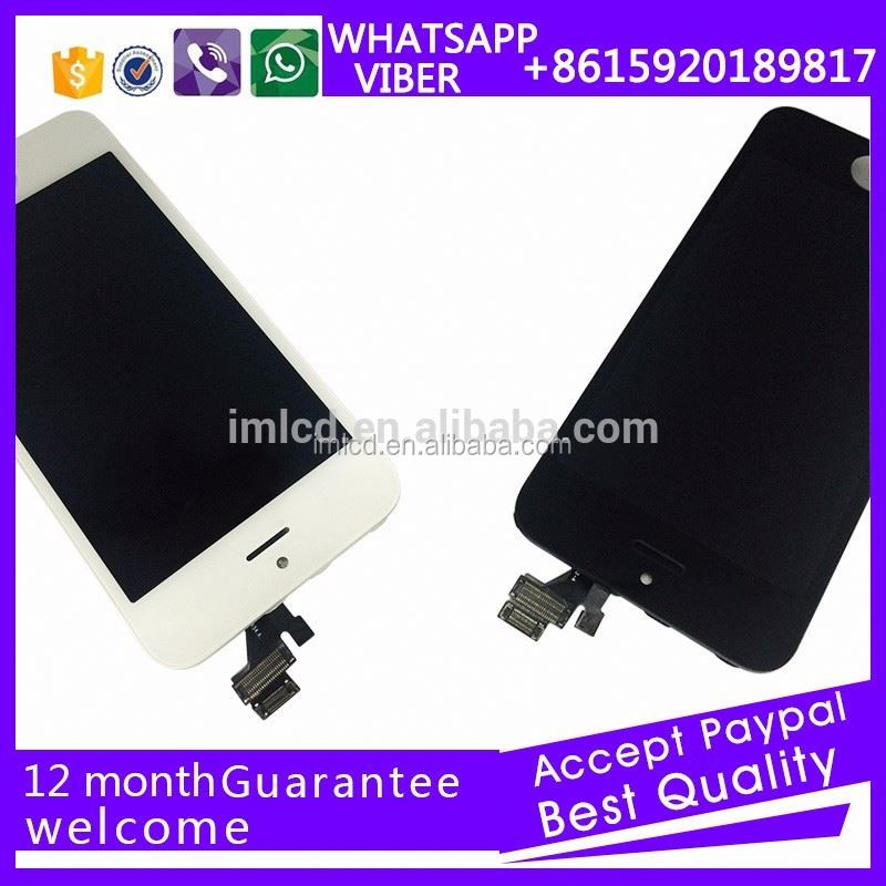 "mobile phone replacement lcd complete for Apple for iPhone 5"" with digitizer"