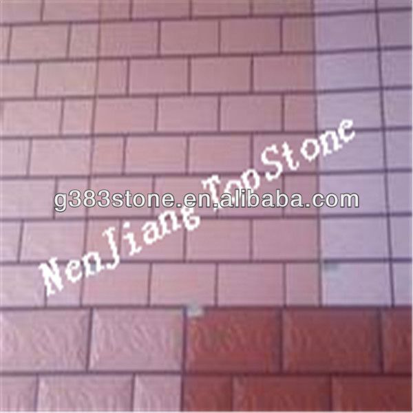 standard red brick size