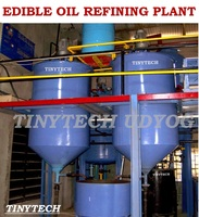 Edible Oil Refining Plant