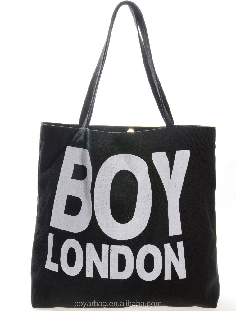 Alibaba wholesale Customizable canvas tote bag for boy.