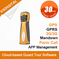 online gps security guard tour system with online software