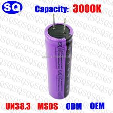 High Quality Lithium Titanate 2.4V 18650 1500mah Rechargeable Lto Battery