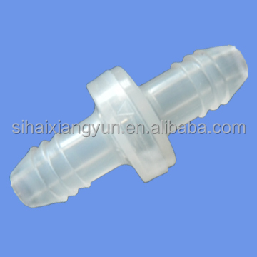 "FDA food grade material 3/8"" PP/Viton Plastic Diaphragm Check Valve /One Way Non Return Valve/Small Valve DCV1606CVN"