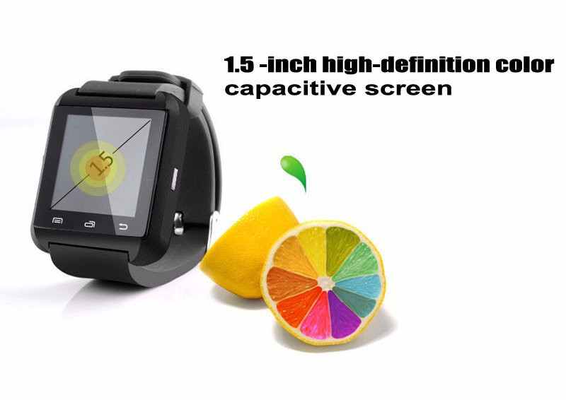 2015 New Products U8 Bluetooth Smart Watch support for android & ios