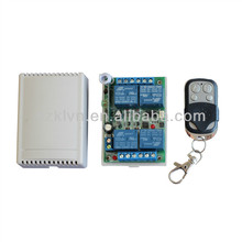 Wireless learning code universal rf remote relay switch dc12v KL-K400C