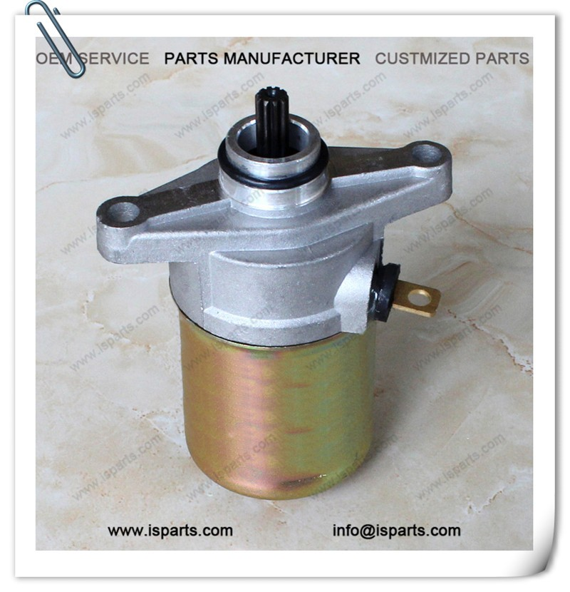 STARTER MOTOR GY6 50CC 12V CHINESE 50 SCOOTER MOPED ENGINE