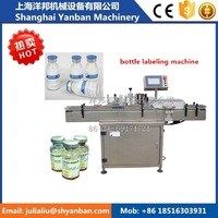 Hot sale YB-LT100 Vertical Round Bottle Labeling Machine (CE)