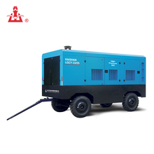 Kaishan 33m3/min 25Bar High Pressure Portable Diesel Driven Screw Air Compressor For Gold Mine At Indonesia