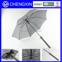 real katana sword umbrella personalized golf umbrella