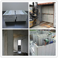 Easy Installation Calcium Silicate Board Sandwich Wall Panel with EPS Cement Sand