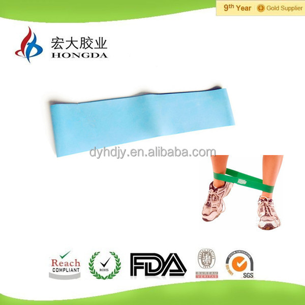 Elastic exercise band resistance ankle bands