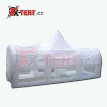 Hot White Inflatable Trade Show Tent, Inflatable Cube Structure/Building/Igloo Tent