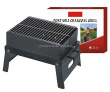 Portable Outdoor Stainless Steel Barbecue Stove For Picnic Grill Charcoal BBQ