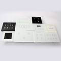 12V 24V Customized Smart Hotel Room solutions touch panel switches