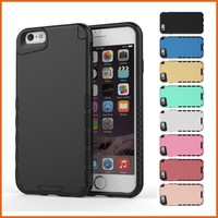 Hybrid rugged rubber slim back cover for iphone 6s case
