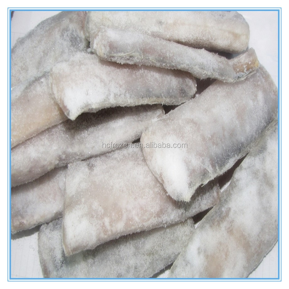 High quality IQF Frozen fresh sea foods ribbon fish steak